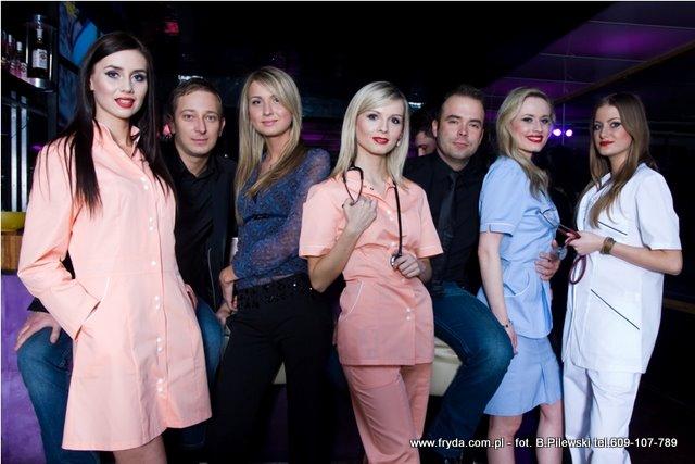 Medyczne OSTATKI w klubie Fashion TIME Lublin – zdjęcia z imprezy po pokazie