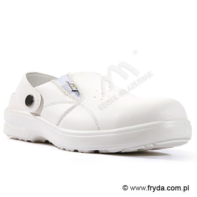 """Sandały bezpieczne """"BARI"""" dla gastronomii wyróżnione w kategorii PRODUKT INNOWACYJNY EXPOSILESIA 2010"""