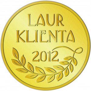 Pokrowce samochodowe KEGEL-BŁAŻUSIAK otrzymały Złoty Laur Klienta 2012!