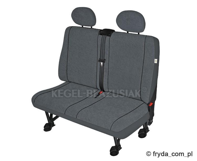 Nowy pokrowiec na podwójną tylną kanapę do samochodów dostawczych