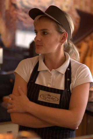 Fartuch gastronomiczny – zdjęcia w trakcie użytkowania