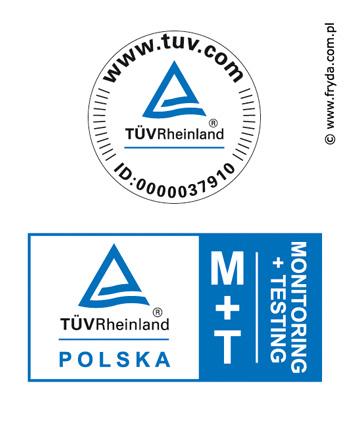 Certyfikat TUV dla pokrowców firmy KEGEL-BŁAŻUSIAK