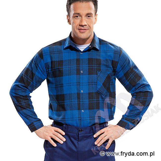 Koszula flanelowa robocza – wygodna odzież do pracy