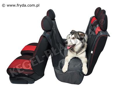 pokrowiec samochodowy dla psa