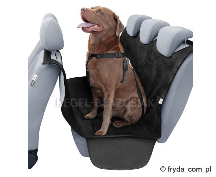 Pokrowiec-mata do przewozu psa w samochodzie
