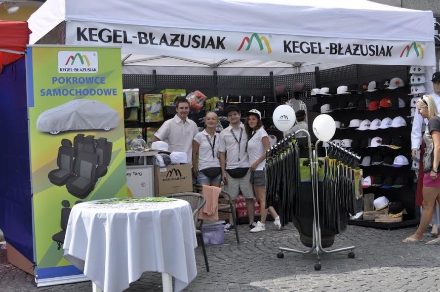 Stoisko KEGEL-BŁAŻUSIAK na Jarmarku Podhalańskim 2013