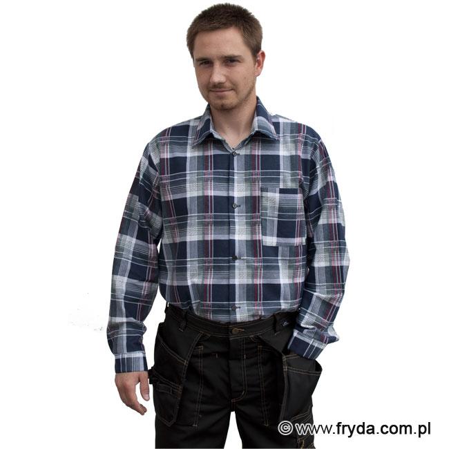 Nowe bawełniane koszule flanelowe – odzież robocza