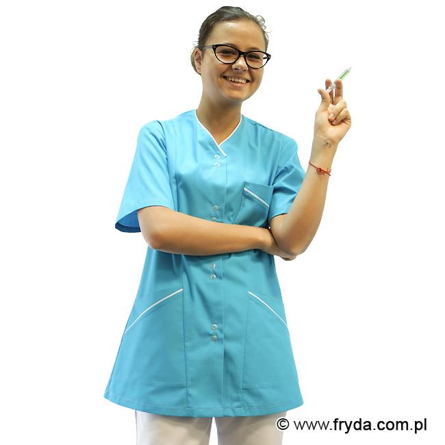 Nowe bluzy medyczne damskie kolorowe – ELIDA
