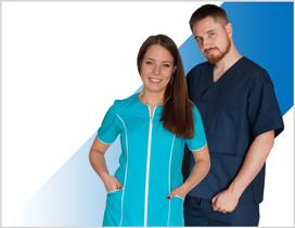 Biała i Kolorowa, komfortowa w użytkowaniu Odzież Medyczna