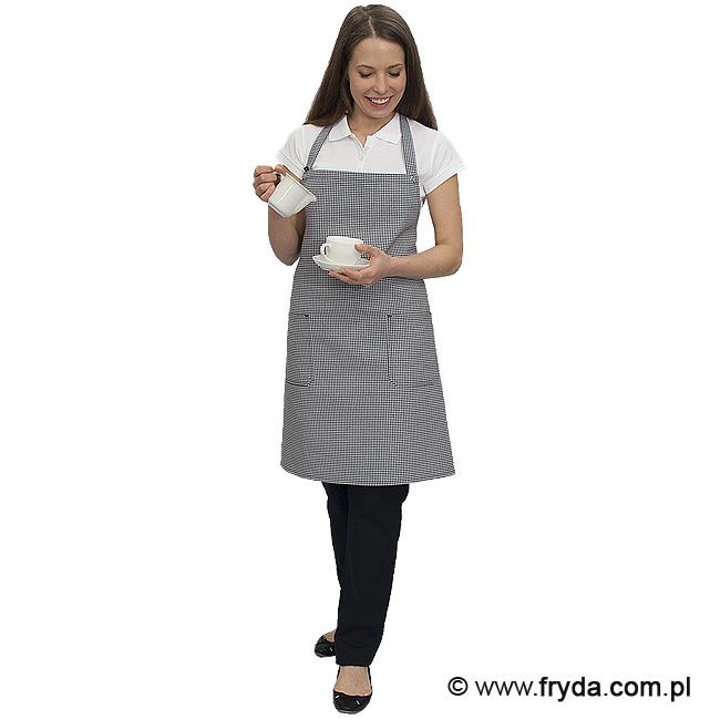 Fartuch w pepitkę dla kucharzy i kelnerów!