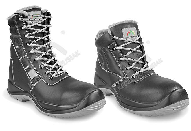 Lekkie i ciepłe obuwie robocze na zimę